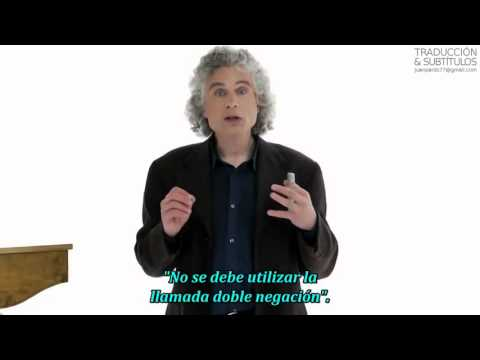 Steven Pinker: gramatica descriptiva/ gramática prescriptiva