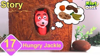 The Hungry Jackal Story | Panchatantra Stories for Children | 3d Animated English Stories