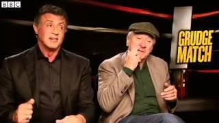 Football Focus Sylvester Stallone and Robert De Niro give their predictions