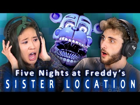 FIVE NIGHTS AT FREDDY S SISTER LOCATION REACT Gaming