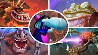 Rayman Legends - All Bosses  (No Damage)