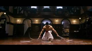 Raghav's fight scene in Baaghi movie