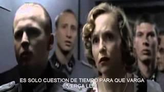 Hitler se entera que Neji a muerto.