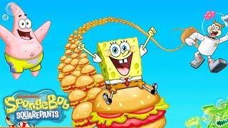 SpongeBob SquarePants | The Ultimate Krabby Patty Challenge | Nick
