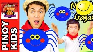Maliliit na Gagamba (Itsy Bitsy Spider Tagalog) | Pinoy BK Channel🇵🇭 | TAGALOG (AWITING PAMBATA)