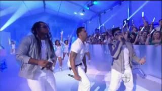 RKM & Ken-Y - Arcangel - Zion y Lennox - Lobo - Diosa de Los Corazones - Premios Juventud 2012