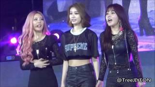 [FanCam] 20140119 Chengdu Concert : Dance Game #1 JIYEON (T-ARA)