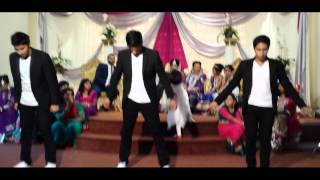 Wedding Reception Dance (Nisar and Sobia's) Ft. Bhangra/Bollywood/Street Dance