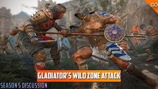 Gladiator's Ridiculous Zone Attack