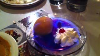 Ice-cream on fire