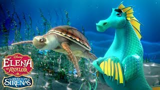 The Secret Life of Sirenas: Off to the Races | Elena of Avalor | Disney Junior