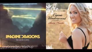 Cheating Warriors - Imagine Dragons vs. Carrie Underwood (Mashup)