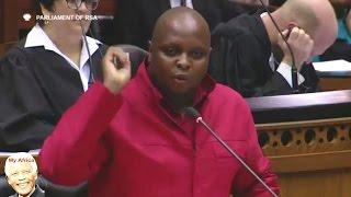 Internal ANC Squabbles Reason For Vuwani Crisis - Floyd Shivambu EFF