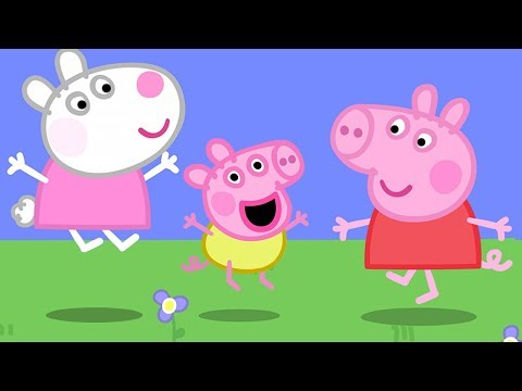 Peppa Pig English Episodes | Baby Alexander plays with Peppa! | Cartoons for Children #161