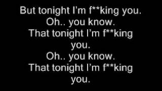 Enrique Iglesias - Tonight (I'm fuckin' You) - Lyrics / HD
