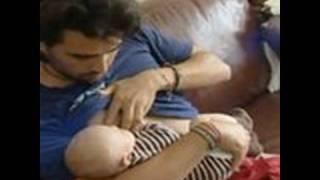 Swedish Man Breast Feeds His Child