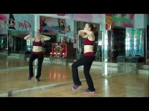 aerobics the duc tham my happy new year gangnam style cam tuyet