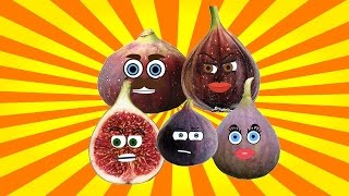 Fig Finger Family | Fruits Finger Family | Learn Fruits | Fruits Song | Nursery Rhymes