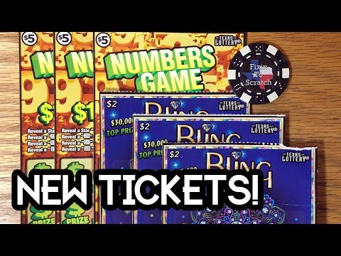 Xxx Mp4 NEW TICKET WINS 3X Bling 3X Numbers Game TEXAS LOTTERY SCRATCH OFF TICKETS 3gp Sex