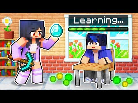 Playing as a SCHOOL TEACHER in Minecraft
