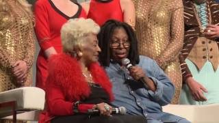 Whoopi Goldberg and Nichelle Nichols attend the Star Trek Annual Convention