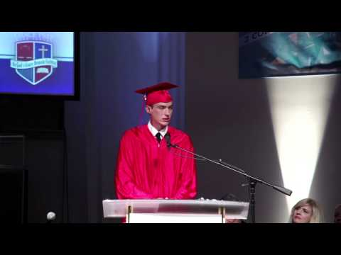Grace Prep Graduation 2015 (10 of 14) Student of the Year Address