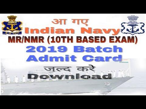 Xxx Mp4 HOW To Downlaod Latest Indian Navy MR NMR 4 2019 Batch Admit Card 3gp Sex