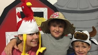 OLD MACDONALD HAD A FARM!! BEST NURSERY RHYME SONG FOR KIDS!! SO FUNNY!