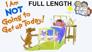 """""""I AM NOT GOING TO GET UP TODAY"""" by Dr. Seuss 