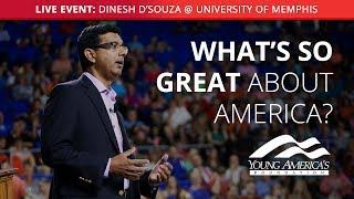 Dinesh D'Souza LIVE at University of Memphis
