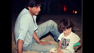 Shah Rukh & AbRam Enjoy Shoots At The Set Of