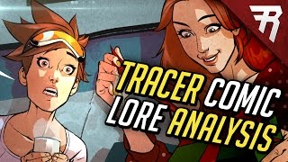 Tracer Christmas Comic: Full Story Analysis (ALL HEROES!) (Overwatch Lore & Backstory)