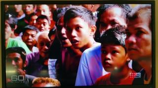 Manny Pacquiao vs Jeff Horn - interview on Ch. Nine 60 Minutes News and Public Affairs Program