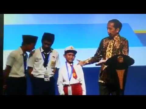 Kejadian lucu dan unik pertanyaan presiden kepada anak SD