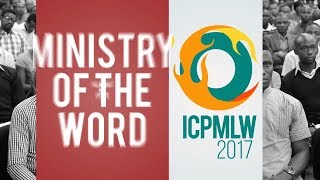 170817 - ICPMLW, MORNING SESSION DAY 2
