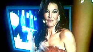 María Abradelo parlant valencià a Canal Nou