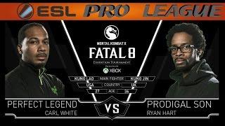 Mortal Kombat X: Fatal 8 - Perfect Legend vs Prodigal Son (Round 1)