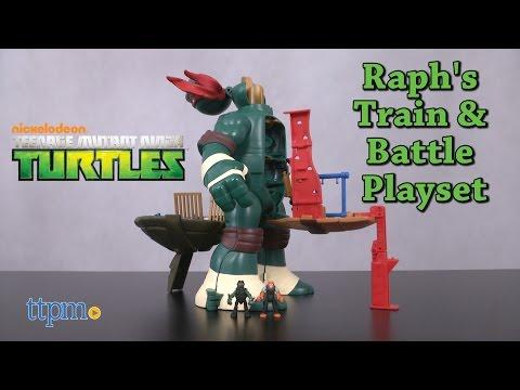 Xxx Mp4 Teenage Mutant Ninja Turtles Micro Mutants Raph S Train And Battle Playset From Playmates Toys 3gp Sex