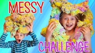 Play Foam Challenge - Sticky, Squishy, Sculpting FUN!!