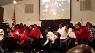 Preach by Isaac Carree ministered in dance by Kingdom People Dancers of Grace Cathedral Sumter