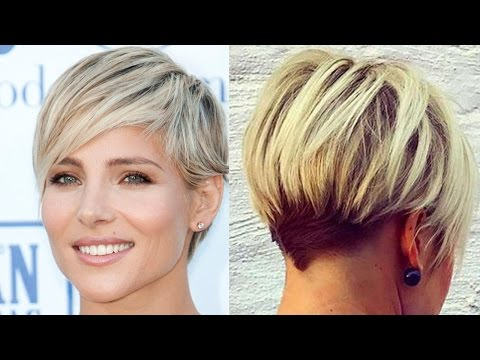 Xxx Mp4 New Blonde Short Haircuts Modern Short Cut Blonde Hair Women 3gp Sex