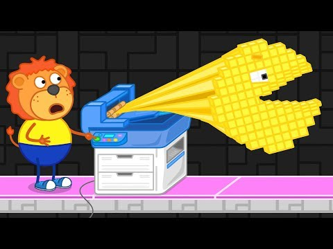 Xxx Mp4 Lion Family Arcade Game 4 PacMan Is Back Cartoon For Kids 3gp Sex
