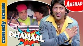 Arshad Warsi Comedy Scenes | Dhammal | Indian Comedy
