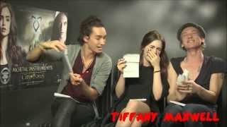The Mortal Intruments : City Of Bones Cast - Funny Moments (Part 3)
