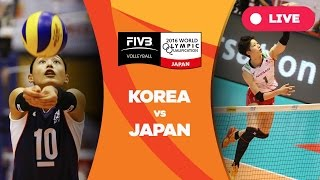 Korea v Japan - 2016 Women's World Olympic Qualification Tournament