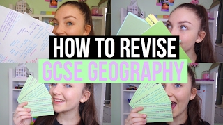 HOW TO REVISE: GCSE GEOGRAPHY| Tips + Methods|Floral Sophia