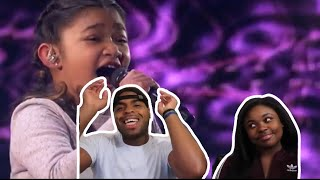 Angelica Hale: Without You cover - REACTION!!!!!