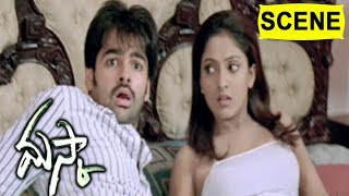 Ram & Sunil Ecapes From Dog Enters Sheela Room - Comedy Scene || Maska Movie Scenes