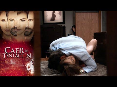 ¡Raquel y Damián encienden la pasión!   Caer en tentación - Televisa