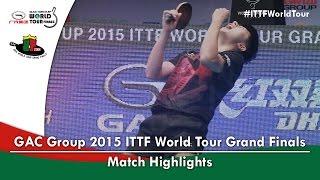 2015 World Tour Grand Finals Highlights: MA Long vs FAN Zhendong (Final)